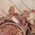 Darius III à bataille d'Issus