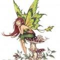 Uné fée dans l'imaginaire