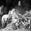 Les adieux de Calas à sa famille