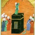 Bilal ibn Ribah, un ancien esclave éthiopien faisant le premier Muezzin