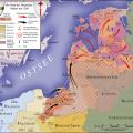 Les Etats Baltes en 1260