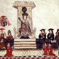 Le roi Henry VIII au parlement anglais