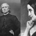 Franz Liszt et Marie d'Agoult