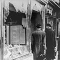 Un magasin juif détruit après la nuit de cristal
