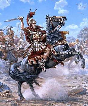 Tableau d'Alexandre le Grand