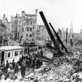 Dresde après des bombardements