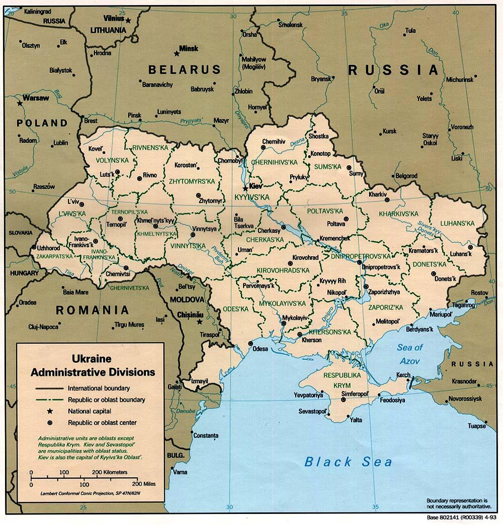 l'Ukraine aujourd'hui
