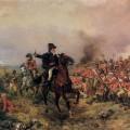 Wellington à la bataille de Waterloo