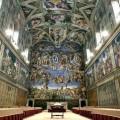 Fresques de Michel-Ange dans la chapelle Sixtine