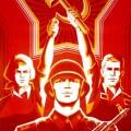 Affiche d'un film soviétique