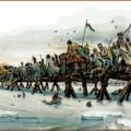Le passage du pont de la Berezina en 1812 par la Grande Armée