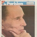 Une du Parisien du 9 janvier 1996