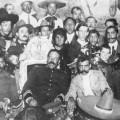 Pancho Villa et Emiliano Zapata au Palais National à Mexico