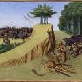 Mort de Roland lors de la bataille