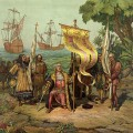 L'arrivée de Christophe Colomb en Amérique
