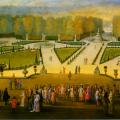 Le roi et sa cour à Versailles d'Allegrain