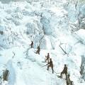 La caravane du Dr Bardy en 1880 sur le Mont-Blanc