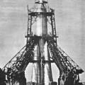 La R-7 Semiorka sur son aire de lancement