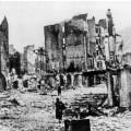 Guernica après le bombardement