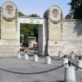 Entrée du cimetière du Père-Lachaise
