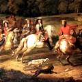 Le roi Louis XIV chassant