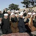 Des musulmans en train de prier