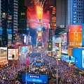 Un reveillon à Time Square à NY