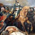 Le général Bonaparte triomphant à Rivoli
