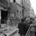 La synagogue de la rue Copernic après l'attentat