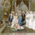 Un mariage au XVIIIe siècle par Giulio Rosati
