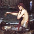 Une sirène par John William Waterhouse