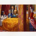Louis XIV sur son lit de mort