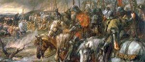 Matin de la bataille d'Azincourt par Charles Henri