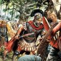 Combat pendant la guerre des Gaules
