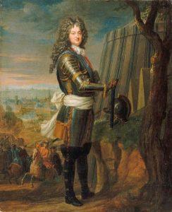 Le Régent en 1717 par Jean-Baptiste Santerre.
