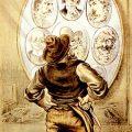 Caricature de Tom Merry évoquant Jack l'Éventreur