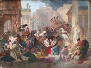 Les Vandales pendant le Sac de Rome