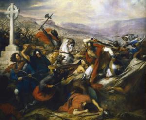 Bataille de Poitiers, tableau de Charles de Steuben