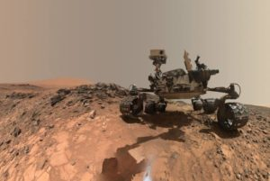 Robot sur Mars