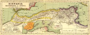 Provinces de Maurétanie, de Numidie et de Proconsulaire
