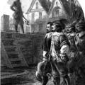 Cinq-Mars et de Thou au pied de l'échafaud