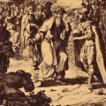 Alexandre le Grand couronné pharaon