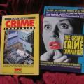 Deux livres de la série 'Crime companion'