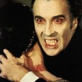 Dracula joué par Christopher Lee