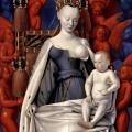 Agnès Sorel en Madonna par Fouquet